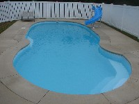 Oasis Fiberglass Pool in New Athens, IL